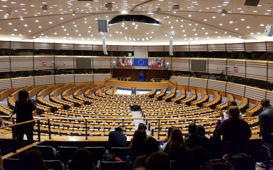 """Liceul Teoretic """"Petre Pandrea"""" în vizită la Parlamentul European – Bruxelles"""